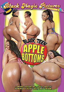 Black Teen Apple Bottoms #01