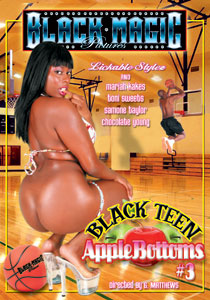 Black Teen Apple Bottoms #03