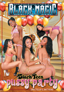 Black Teen Pussy Party #04