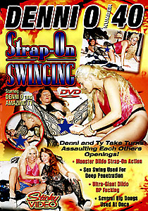 Denni O #40 - Strap-On Swinging