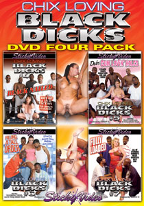 Chix Loving Black Dicks - Four Pack