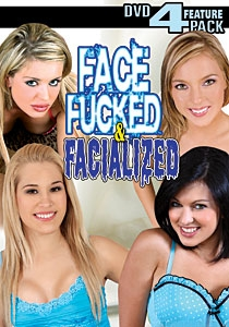 Face Fucked & Facialized DVD 4-pack