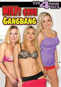 MILFs Gone GangBang  DVD 4-pack