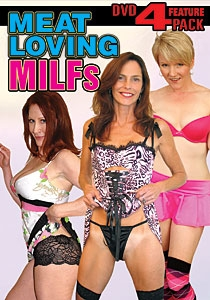 Meat Loving MILFs DVD 4-pack