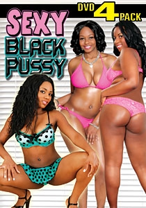 Sexy Black Pussy DVD 4-Pack