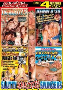 Slutty Amateur Swingers DVD 4-pack