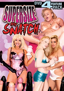 Supersize My Snatch DVD 4-pack