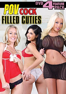 P.O.V. Cock Filled Cuties DVD 4-pack